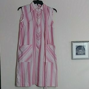 Vintage Skimma Pink House Dress